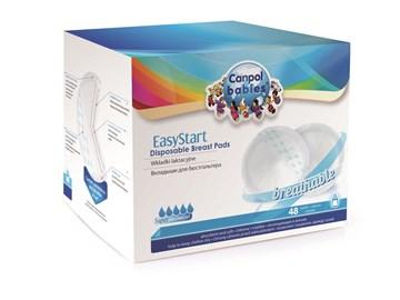 Canpol babies EasyStart 48 pcs  eldobható melltartóbetét - Brendon - 106898