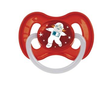 Canpol babies Cherry 0-6 m, space, I. Red játszó- és altatócumi latex - Brendon - 107167