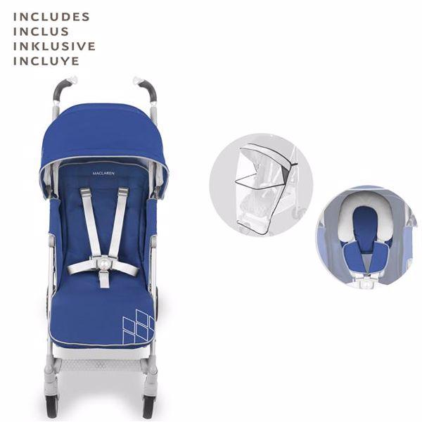 Maclaren Techno XT Medieval Blue/Silver babakocsi - Brendon - 107191