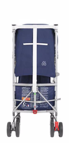 Maclaren Globetrotter Medieval Blue/White babakocsi - Brendon - 107263