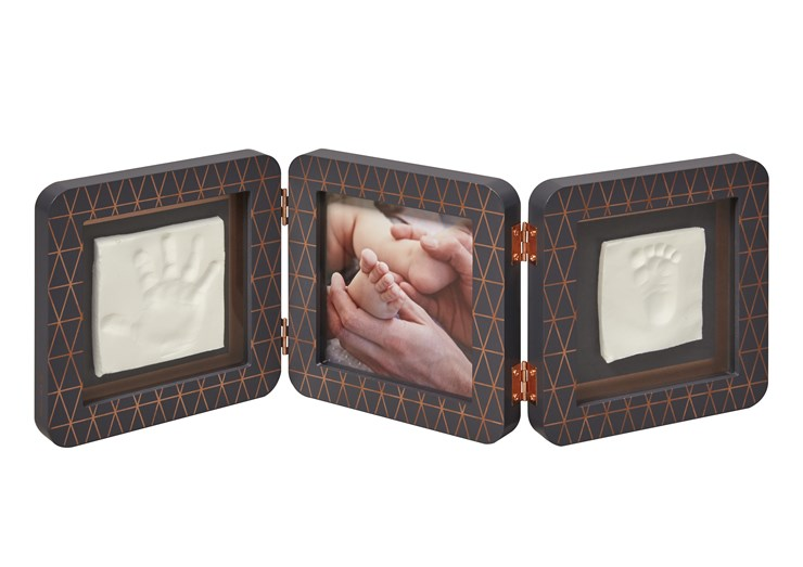 Baby Art My Baby Touch Double Copper edition Dark grey fotorám - Brendon - 107579
