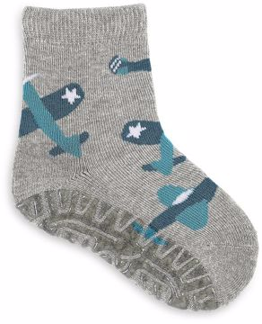 Sterntaler 8031808 542 Grey ponožky - Brendon - 107674