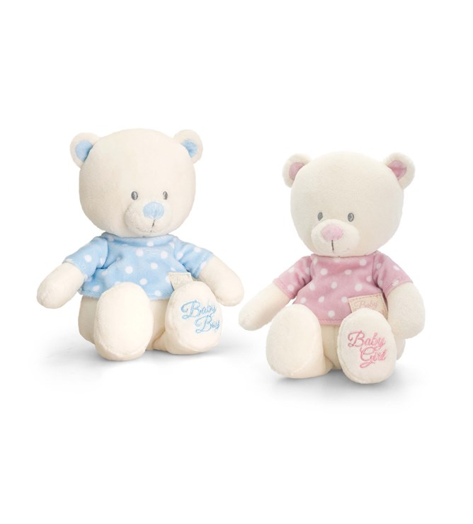 Baby Keel Baby Bear with T-Shirt 17cm Mixed colors plüss - Brendon - 112879