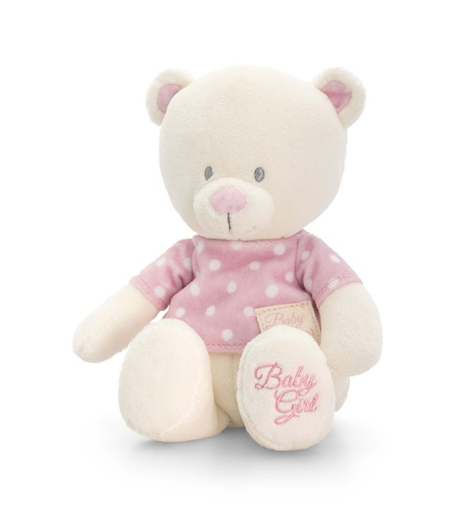 Baby Keel Baby Bear with T-Shirt 17cm Mixed colors plüss - Brendon - 112881