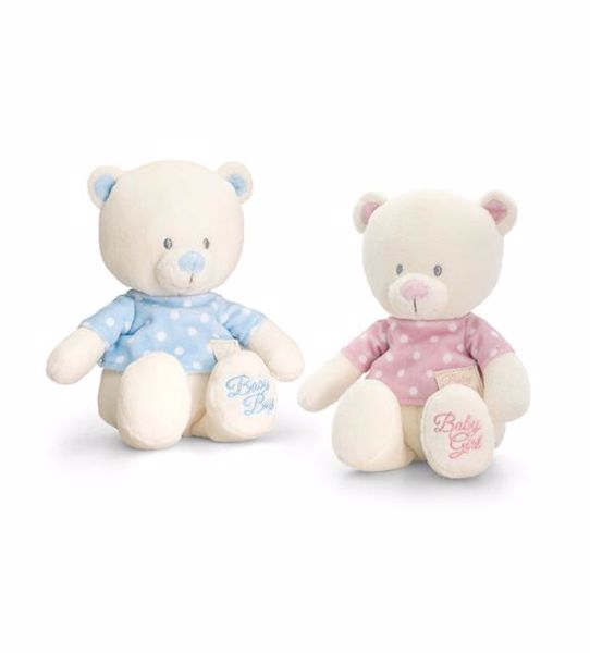Baby Keel Baby Bear with T-Shirt 25cm Mixed colors plüss - Brendon - 112888