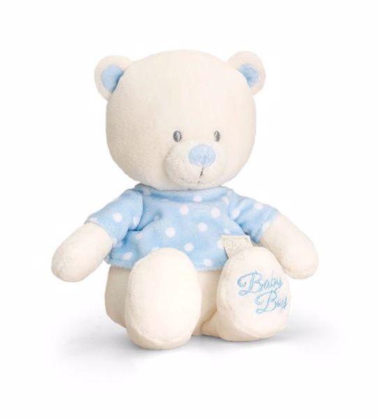 Baby Keel Baby Bear with T-Shirt 25cm Mixed colors plüss - Brendon - 112889
