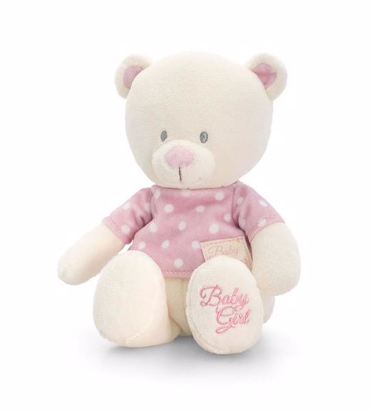 Baby Keel Baby Bear with T-Shirt 25cm Mixed colors plüss - Brendon - 112890