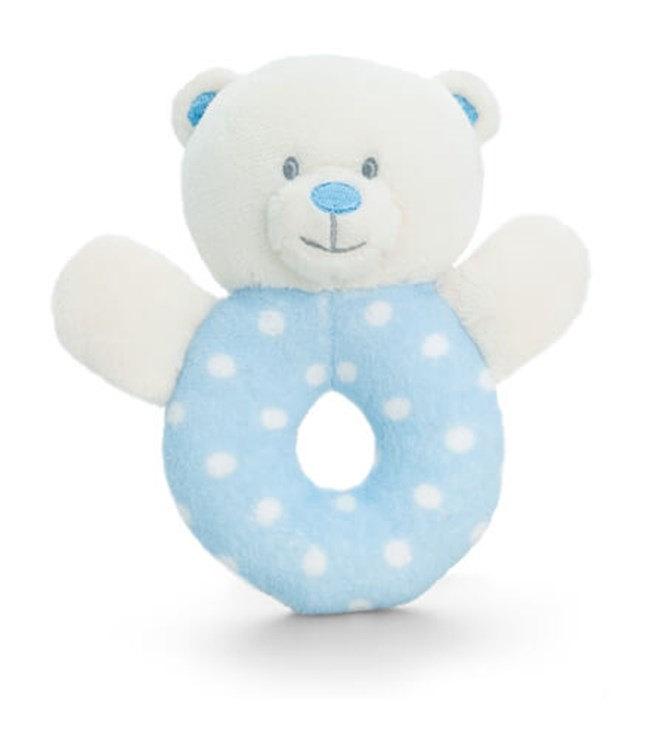 Baby Keel Baby Bear Ring Rattle 12cm Mixed colors plüss - Brendon - 112950