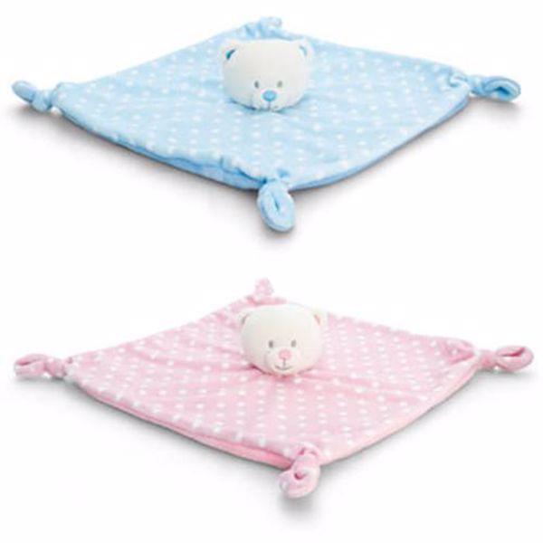 Baby Keel Baby Bear Blanket 25cm Mixed colors szundikendő - Brendon - 112952
