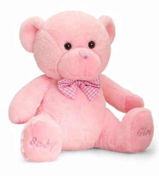 Baby Keel Baby Girl Bear 35cm pink plüss - Brendon - 113146