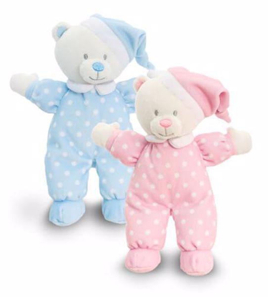 Baby Keel Baby Goodnight Bear 16cm Mixed colors plüss - Brendon - 113147