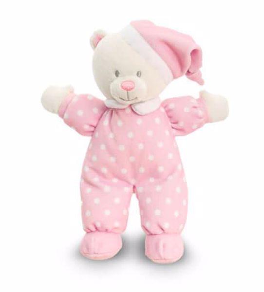 Baby Keel Baby Goodnight Bear 16cm Mixed colors plüss - Brendon - 113149
