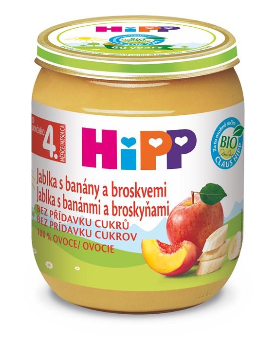 Hipp Banana and Peach in Apple 125g  detská strava - Brendon - 113403