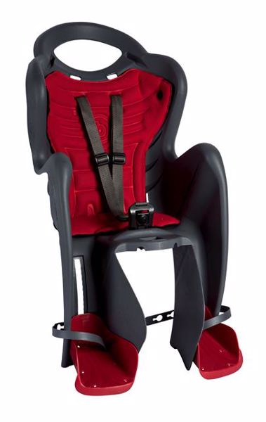 Bellelli Mr Fox Standard B-Fix Dark Grey sedadlo na bicykel zadné - Brendon - 113843