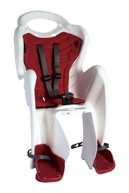 Bellelli Mr Fox Standard B-Fix White/Red sedadlo na bicykel zadné - Brendon - 113844