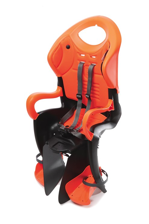 Bellelli Tiger Relax B-Fix Sahara Black/Orange sedadlo na bicykel  - Brendon - 113846