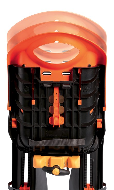 Bellelli Tiger Relax B-Fix Sahara Black/Orange sedadlo na bicykel  - Brendon - 113848