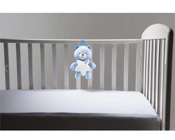 Chicco Goodnight Bear  blue hračka na uspávanie - Brendon - 113866
