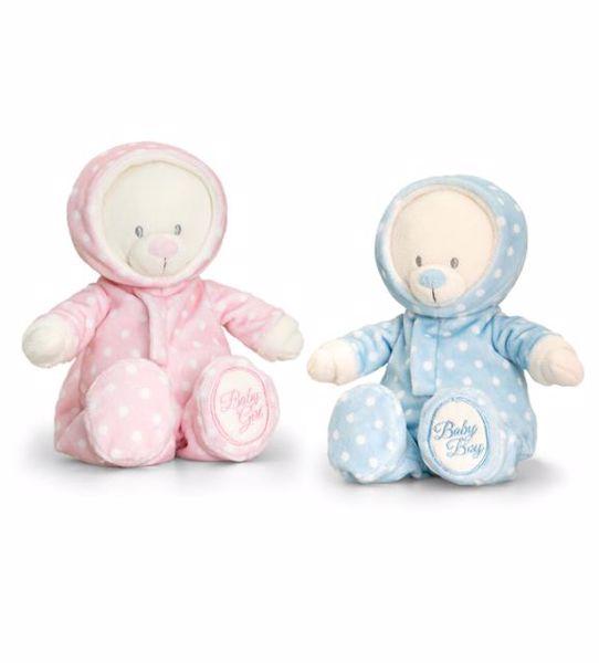 Baby Keel Baby Bear In Romper Suit 25cm Mixed colors plyš - Brendon - 113896