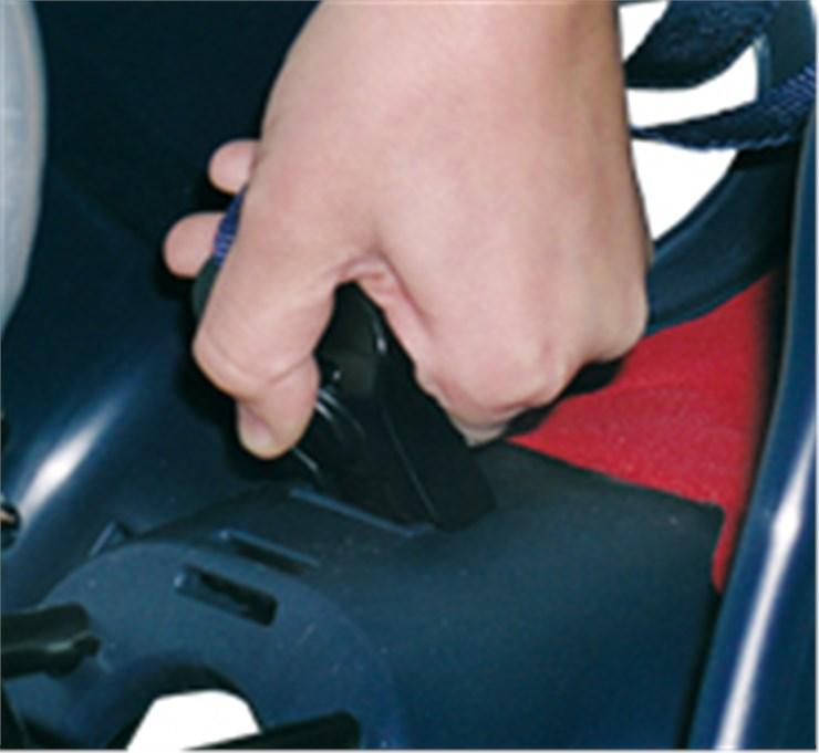 Bellelli Mr Fox Standard B-Fix White/Red sedadlo na bicykel zadné - Brendon - 113958