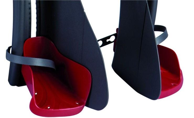 Bellelli Mr Fox Standard B-Fix White/Red sedadlo na bicykel zadné - Brendon - 113961