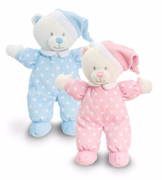 Baby Keel Baby Goodnight Bear 16cm Mixed colors plyš - Brendon - 114147