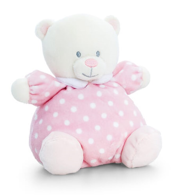 Baby Keel Baby Puffball Bear 16cm Mixed colors plüss - Brendon - 115279