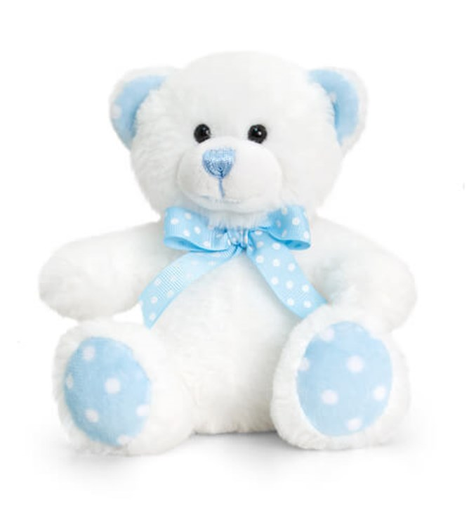 Baby Keel Baby Spotty Bear 15cm Mixed colors plüss - Brendon - 115291