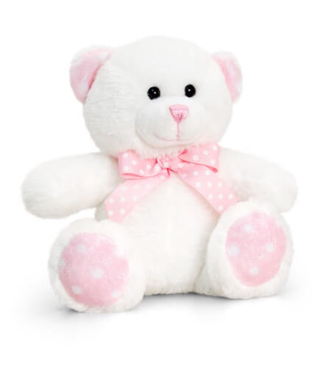 Baby Keel Baby Spotty Bear 15cm Mixed colors plüss - Brendon - 115292