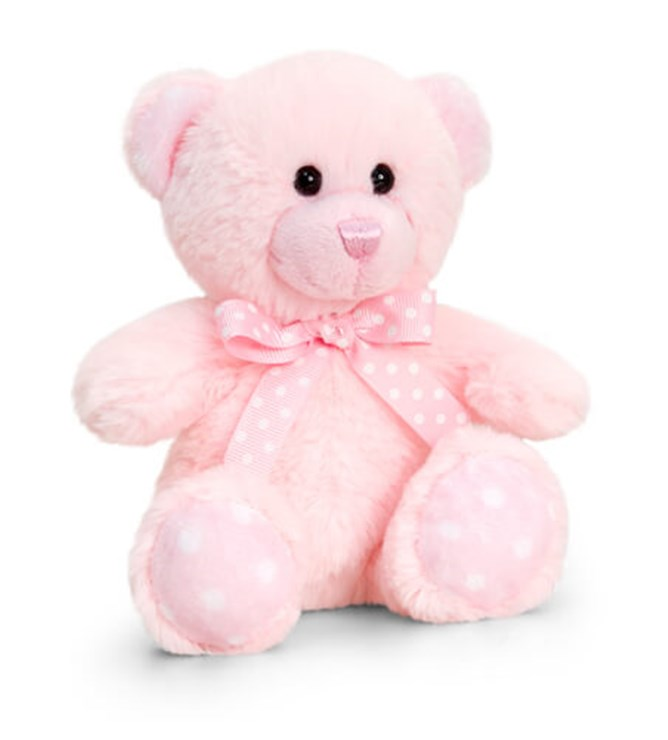 Baby Keel Baby Spotty Bear 15cm Mixed colors plüss - Brendon - 115294