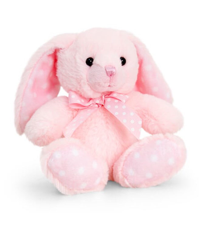 Baby Keel Baby Spotty Rabbit 15cm Mixed colors plüss - Brendon - 115310