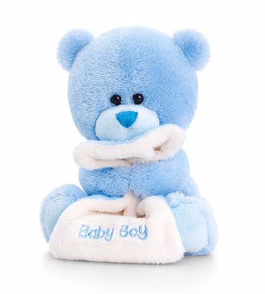 Baby Keel Nursery Pipp the Bear with Blanket 14cm Mixed colors plüss - Brendon - 115328