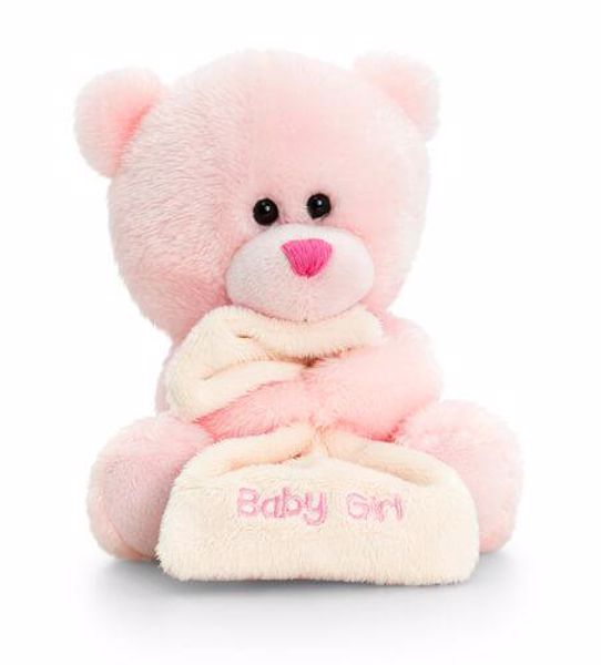 Baby Keel Nursery Pipp the Bear with Blanket 14cm Mixed colors plüss - Brendon - 115329
