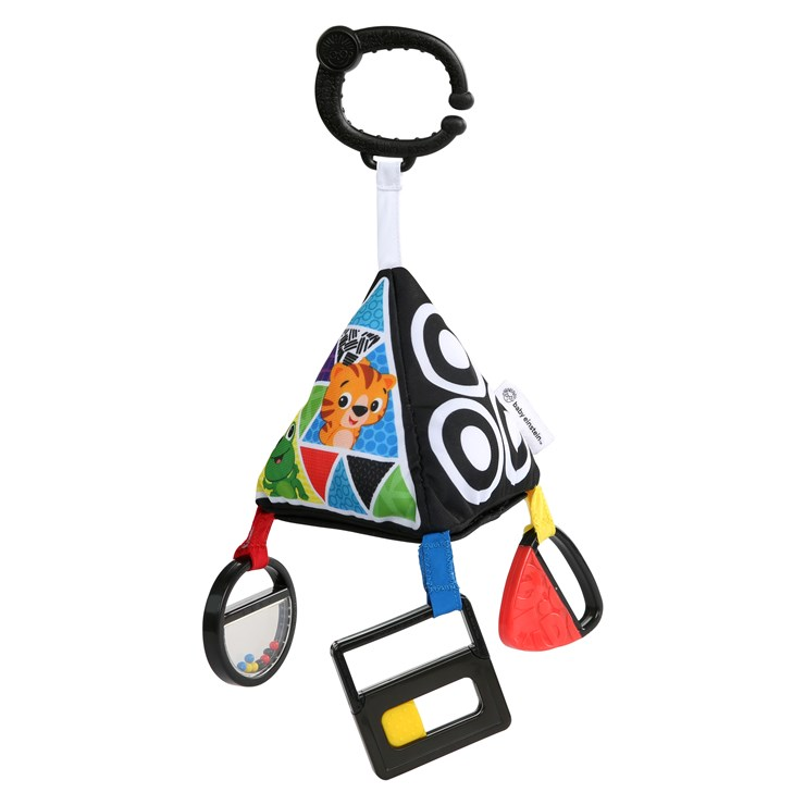 Baby Einstein Playful Pyramid High Contrast Toy  rögzíthető játék - Brendon - 115572