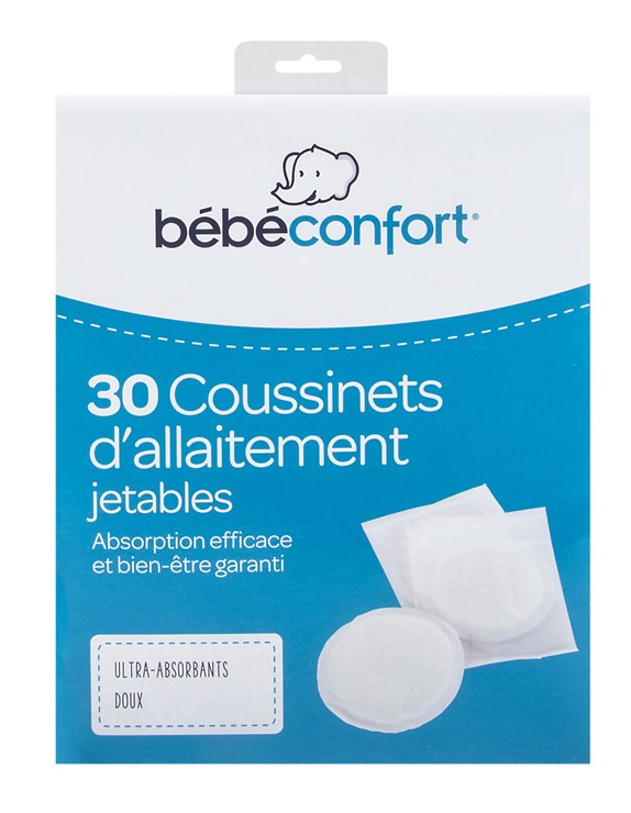 Bébé Confort 30 Ultra Absorbent Disposable Nursing pads  eldobható melltartóbetét - Brendon - 115598
