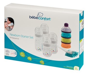 Bébé Confort Baby Bottle Birth Kit  műanyag cumisüveg - Brendon - 115605