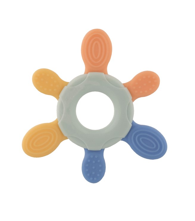 Bébé Confort Flower Teething Ring BI-Texture  rágóka - Brendon - 115628