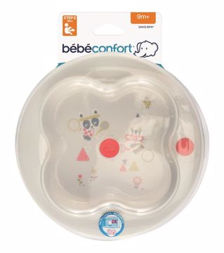 Bébé Confort Learning Plate + Cover Sport tányér - Brendon - 115678