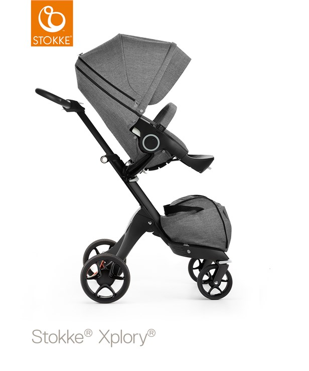 ... Stokke Xplory Basic V6 Grey Melange-Black-Brown babakocsi - Brendon -  115807 ... 285c562408