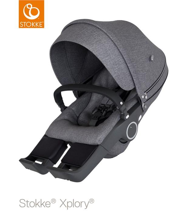 ... Stokke Xplory Basic V6 Black Melange-Black-Black babakocsi - Brendon -  115971 ... 0e983d5d62