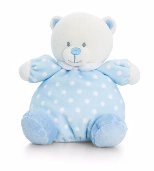 Baby Keel Baby Puffball Bear 20cm Mixed colors plyš - Brendon - 116281