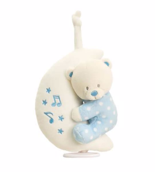 Baby Keel Baby Bear on Moon Musical Mixed colors plyš - Brendon - 116287