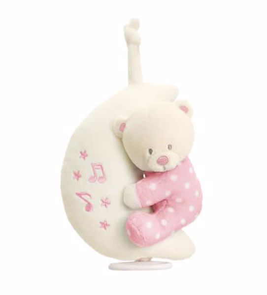 Baby Keel Baby Bear on Moon Musical Mixed colors plyš - Brendon - 116288
