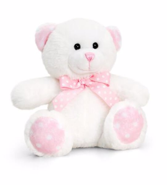 Baby Keel Baby Spotty Bear 15cm Mixed colors plyš - Brendon - 116292