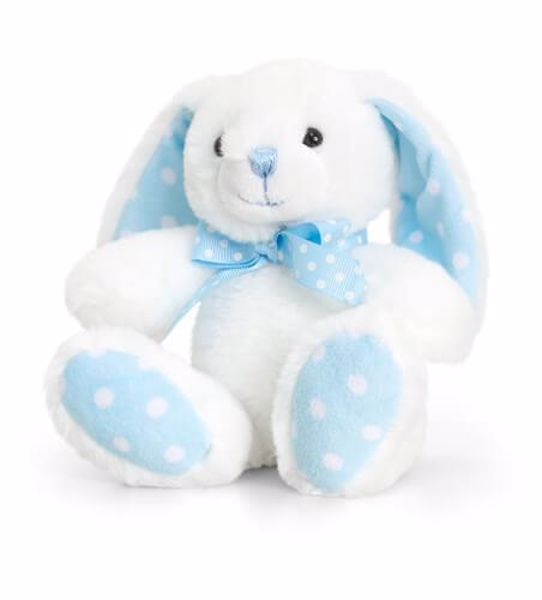 Baby Keel Baby Spotty Rabbit 15cm Mixed colors plyš - Brendon - 116307