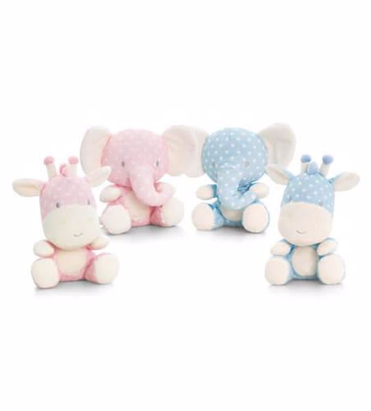 Baby Keel Spotty Wild 15cm Mixed colors plyš - Brendon - 116330