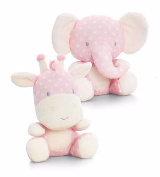 Baby Keel Spotty Pink Wild 20cm Mixed colors plyš - Brendon - 116335