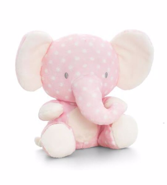 Baby Keel Spotty Pink Wild 20cm Mixed colors plyš - Brendon - 116336