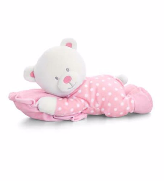 Baby Keel Baby Bear on Pillow 25cm Mixed colors plyš - Brendon - 116343