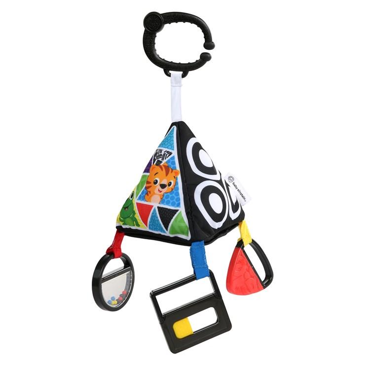 Baby Einstein Playful Pyramid High Contrast Toy  pripevniteľná hračka - Brendon - 116572